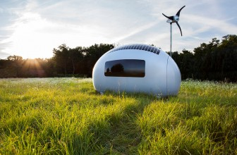 Ecocapsule off grid living