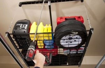 Racor Pro HeavyLift Cable Lifted Storage Rack