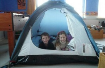How Not to Camp Out in the Living Room with Children